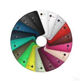Bakpanelet kommer i drøssevis av ulike farger.