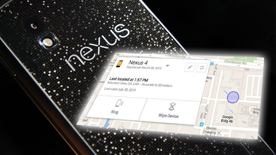 Google med Find my iPhone-lignende tjeneste