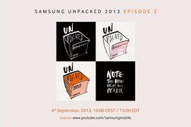 Samsung har sendt ut denne invitasjonen til et arrangement den 4. september.
