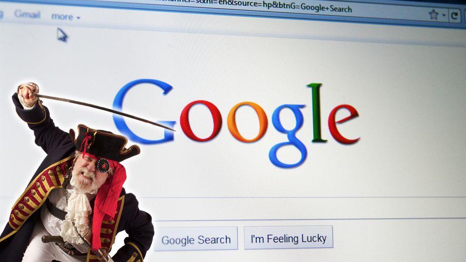 – Søkemotorer bidrar lite til piratvirksomhet