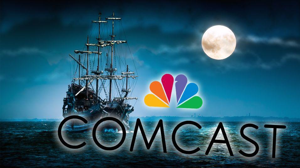Comcast vil dytte pirater over til lovlydighet