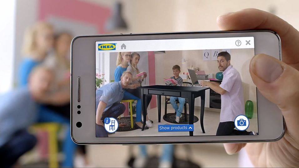 Test ut digitale møbler i hjemmet ditt