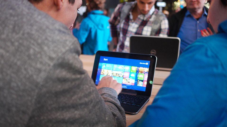 Andelen Windows-nettbrett  øker