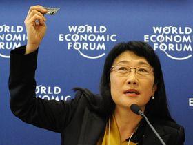 Styreleder Cher Wang i HTC.