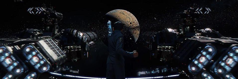 Episke romslag i traileren til «Ender's Game»