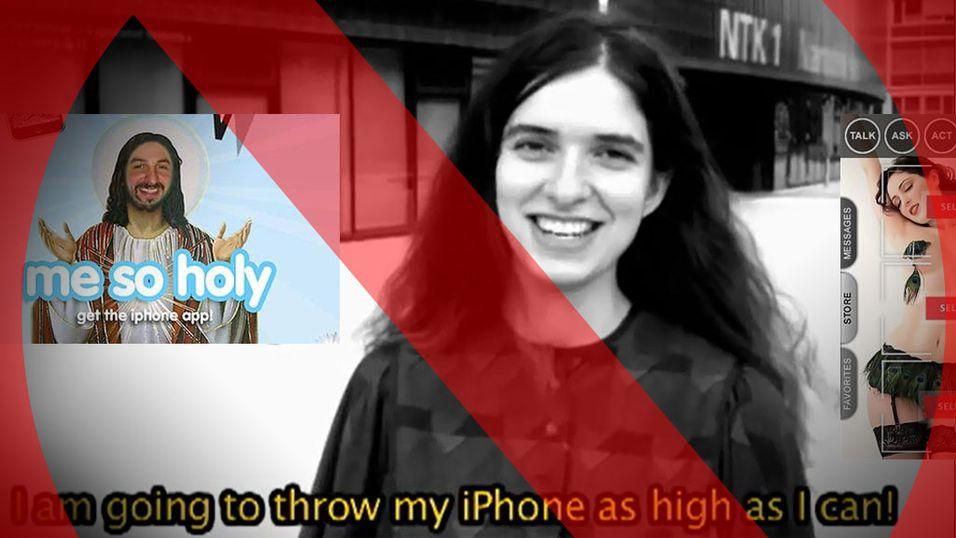 Se appene som ble for drøye for Apple