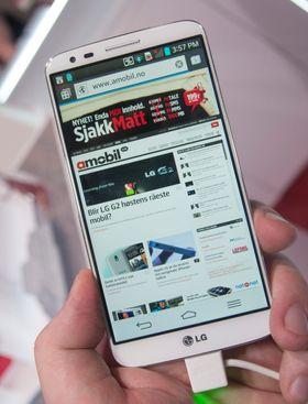 LG G2 er en 4G-telefon, og den har god støtte for frekvensene som brukes og vil bli brukt i Norge. Det betyr, blant annet, kjapp surfing.