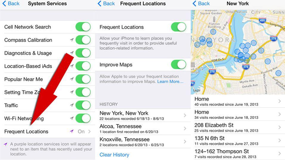 iOS 7 sporer alle bevegelsene dine