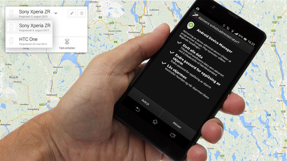 TIPS: Nå kan du spore Android-mobilen din