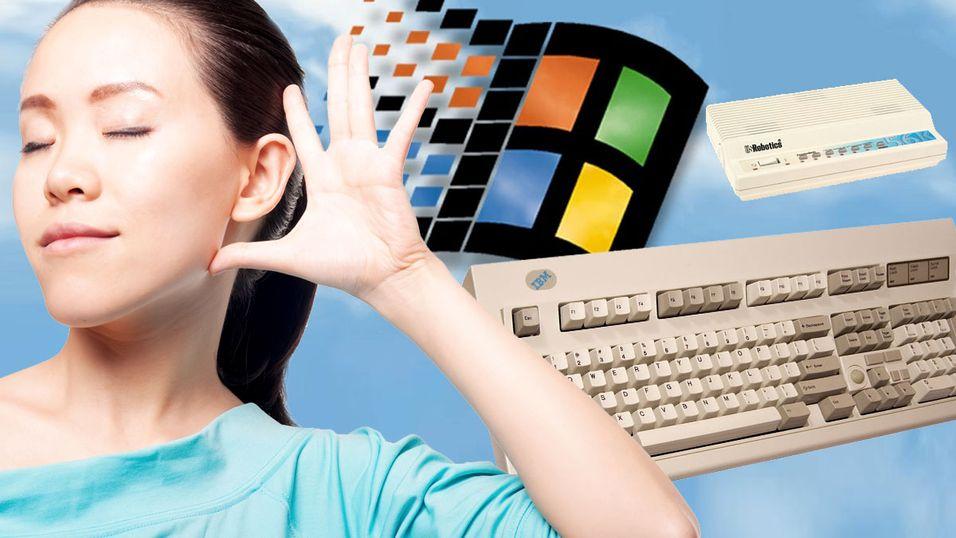NOSTALGI: Disse PC-lydene vil du aldri glemme