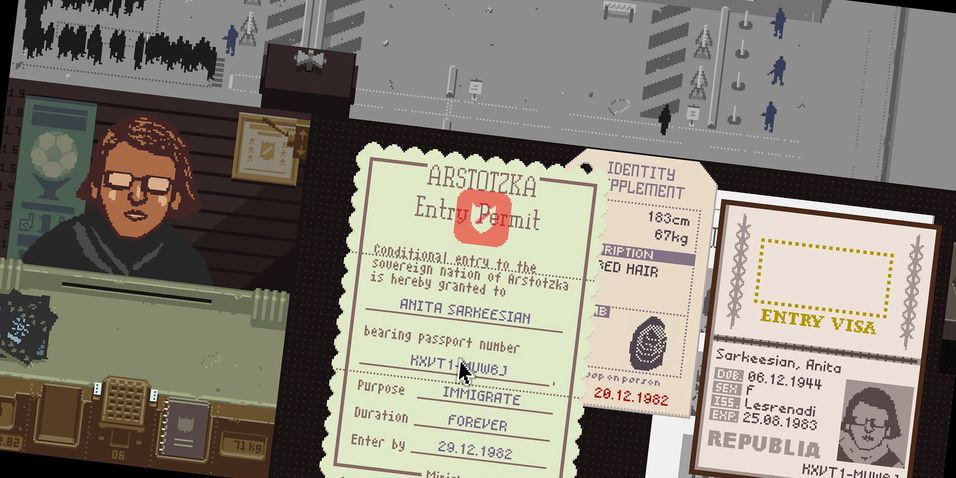 ANMELDELSE: Papers, Please