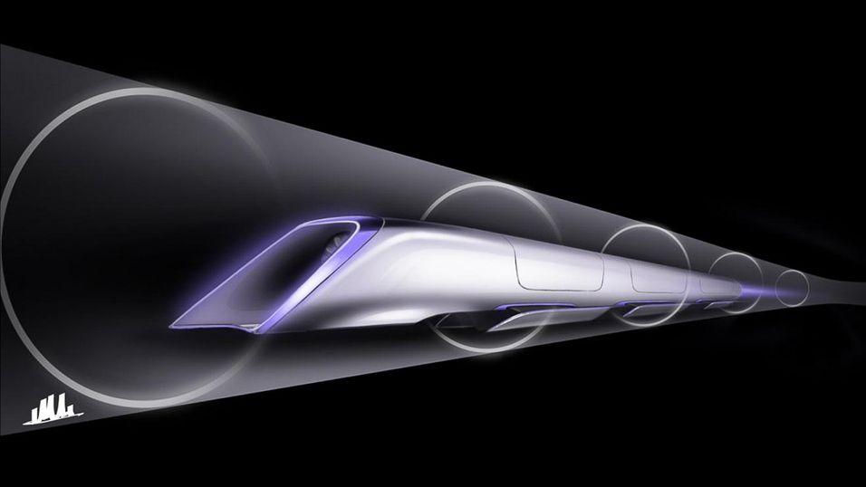 – Texas får en åtte kilometer lang Hyperloop-testbane