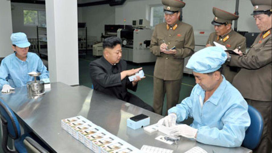 Nord-Korea lager sin første Android-telefon