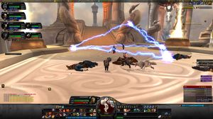 Bilde fra World of Warcraft: Cataclysm.