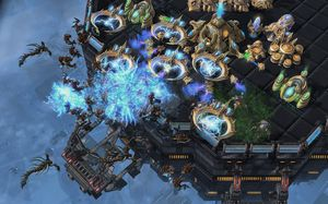 StarCraft II: Heart of the Swarm.