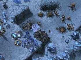 Skjermbilde hentet fra StarCraft II: Heart of the Swarm.
