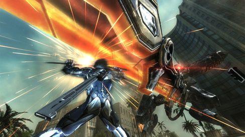 Metal Gear Rising: Revengeance. (Bilde: Konami).