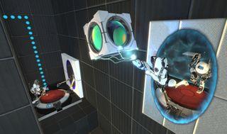 Steam-kontrolleren føltes mer tilrettelagt for Portal 2.