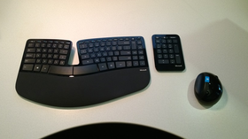 Sculpt Ergonomic Desktop.