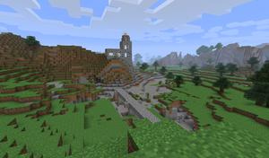Minecraft i «gamle dager». (bilde: Gamer.no).