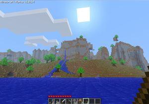 Gigantiske Minecraft.