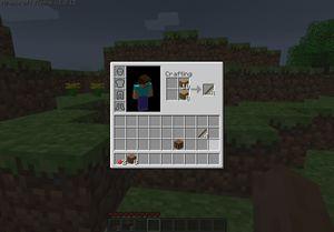 Brukergrensesnittet i Minecraft skal ha ført tankene over på en spesialutgave.