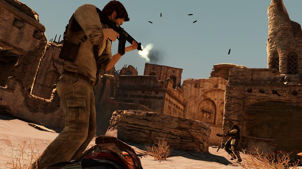 Uncharted 3: Drake's Deception har mange kjernemekanikker, men er et kortere spill.