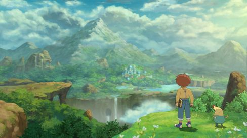 Ni No Kuni: Wrath of the White Witch. (Bilde: Namco Bandai).