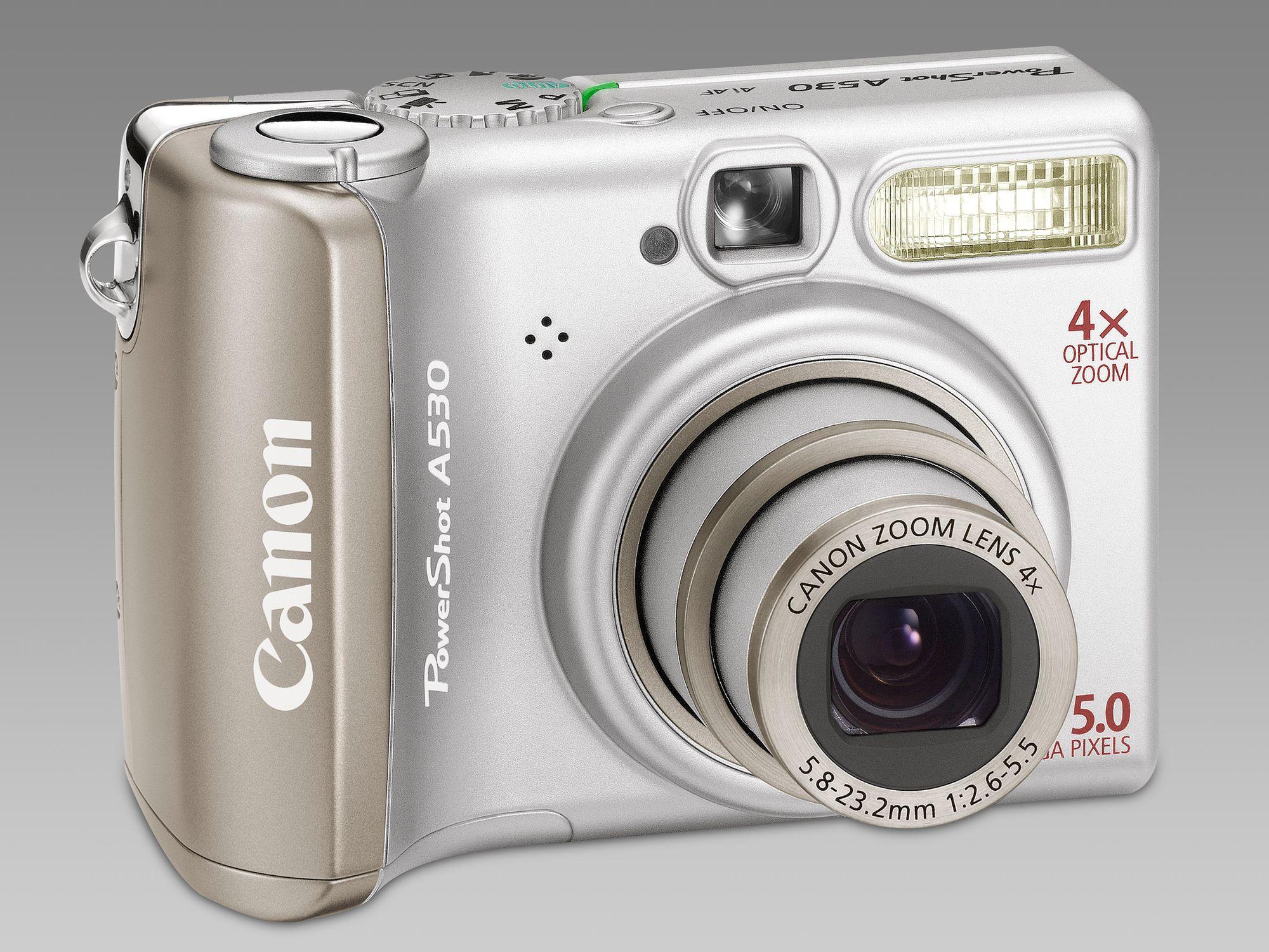 Canon Powershot A540 Инструкция