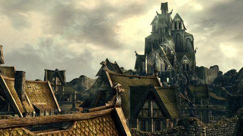 I The Elder Scrolls V: Skyrim er ikke alle mekanikkene så gode.