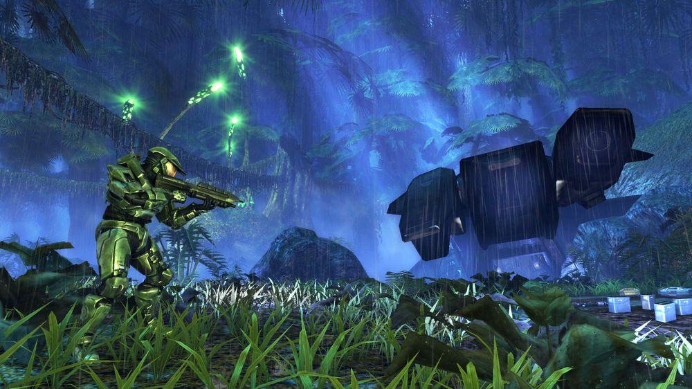 Kan du fortelle Halo-historien som et haiku? (Skjermbilde: Bungie).