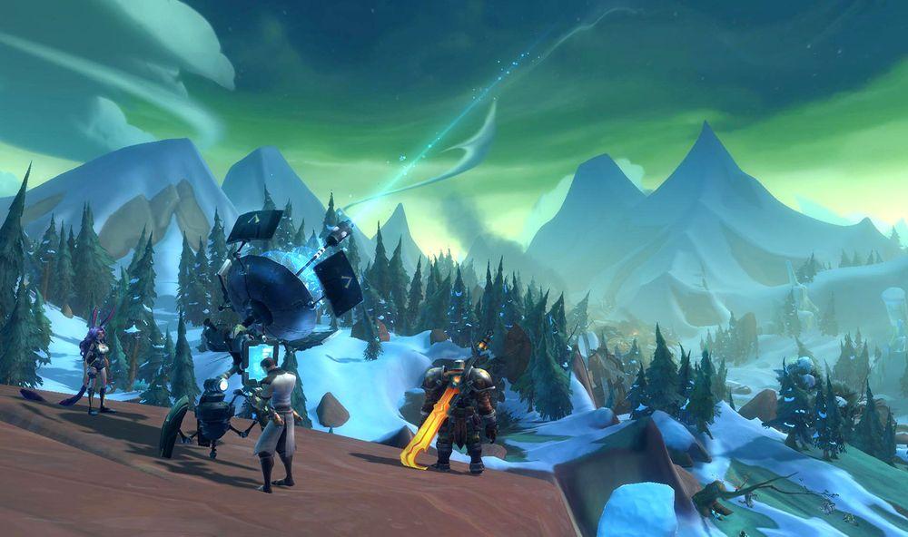 Wildstar er mer sci-fi enn hovedkunkurrenten, World of Warcraft.(Bilde: Carbine Studios).