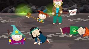 South Park: The Stick of Truth bruker flere av seriens kjennemerker.