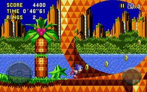 Ser du hva som skiller Sonic CD fra Mega Drive-spillene?