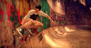Tony Hawk's Pro Skater HD.
