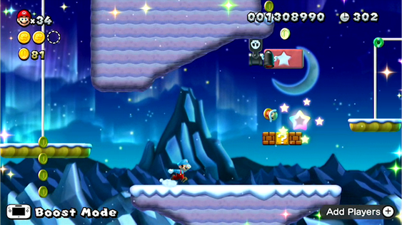 Press who received New Super Mario Bros U. early couldn't mention four of the game's nine worlds.