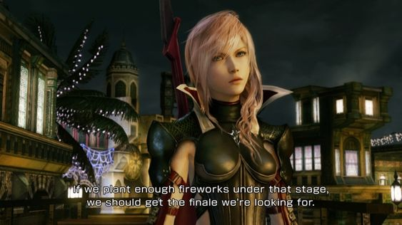 Gaining early access to Lightning Returns from Square Enix, would mean agreeing to basically only use official screenshots.