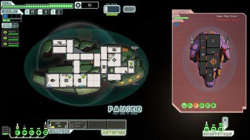 FTL – Faster Than Light var et av de første spillene som fikk det til på Kickstarter.