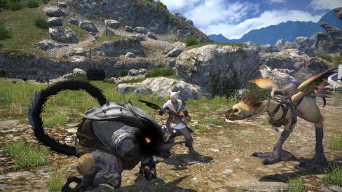 PlayStation 4-eigarane får eit massivt nettspel i Final Fantasy XIV: A Realm Reborn.