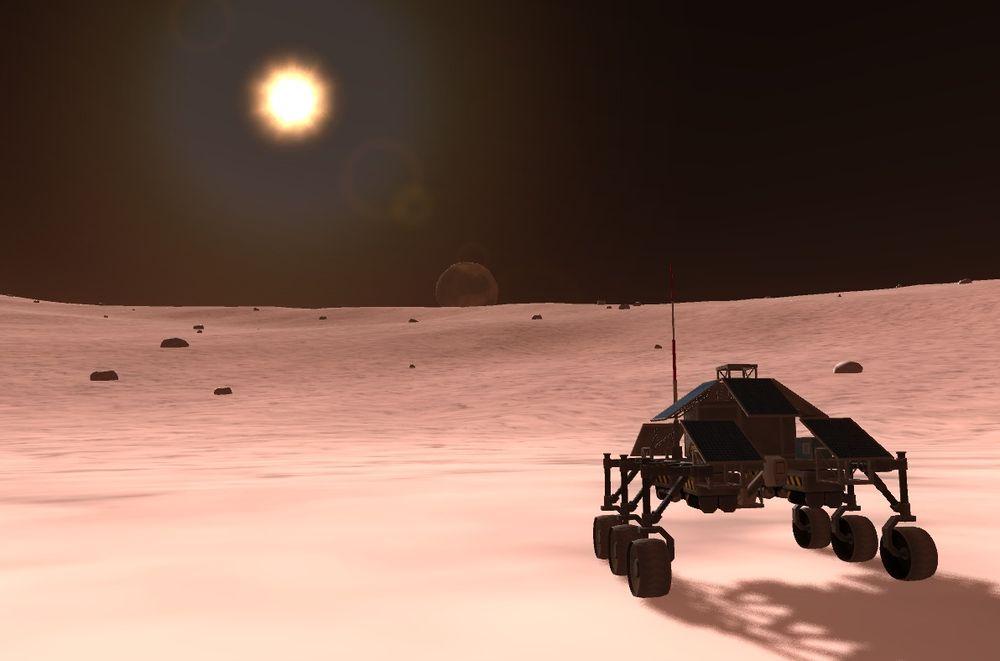 Kerbal Space Program, fortsatt på alfastadiet etter to år med utvikling.