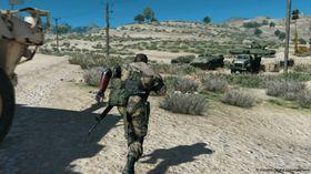 Det blir mye ørkenomgivelser i Metal Gear Solid V: The Phantom Pain.