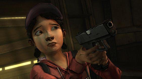 Melissa Hutchinson lånte bort stemmen sin til Clementine i The Walking Dead. .