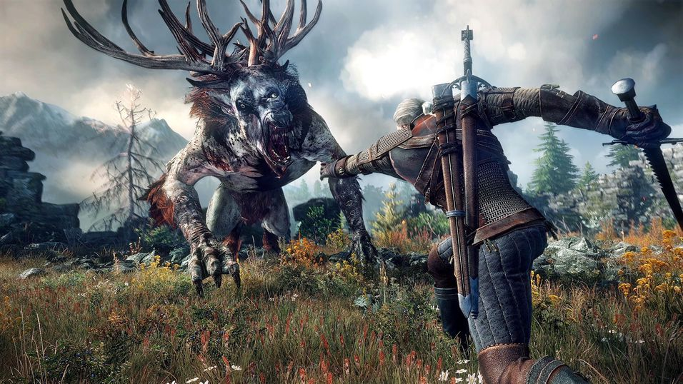 Bilde fra The Witcher 3: Wild Hunt.