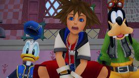 Sora og vennene er også litt overrasket over at vi får enda en samlepakke.