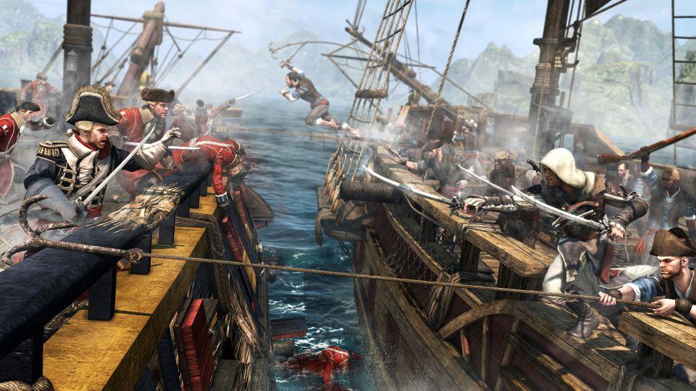 Sjøslag er en av nyhetene i serien.