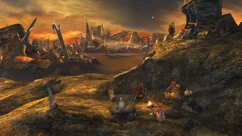 Tilbake til Zanarkand i Final Fantasy X.