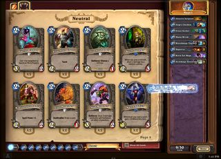 Hvor god kan din kortstokk bli? (Bilde: Blizzard Entertainment).