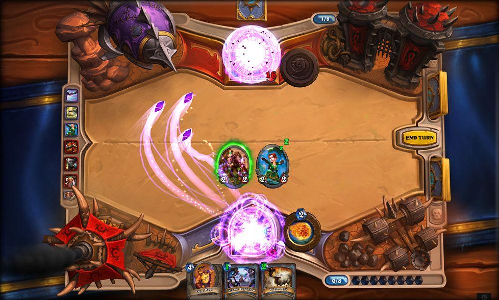 Jaina Proudmore gir motstanderen en på tygga. (Bilde: Blizzard Entertainment).