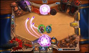 Hearthstone: Heroes of Warcraft.