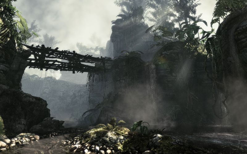 Call Of Duty Ghosts PS4 screen & art.